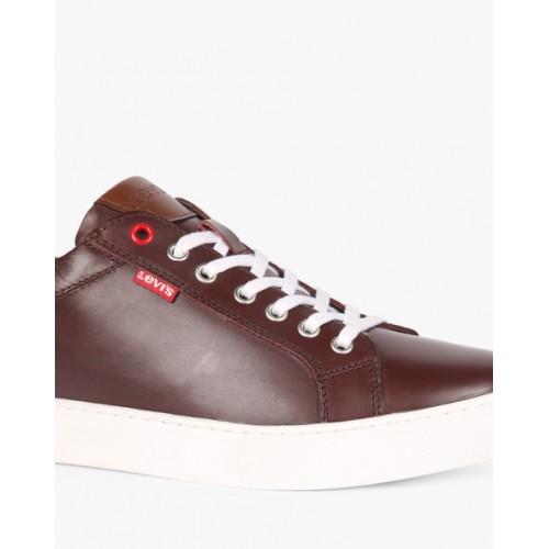 Buy LEVIS Prelude Leather Sneakers