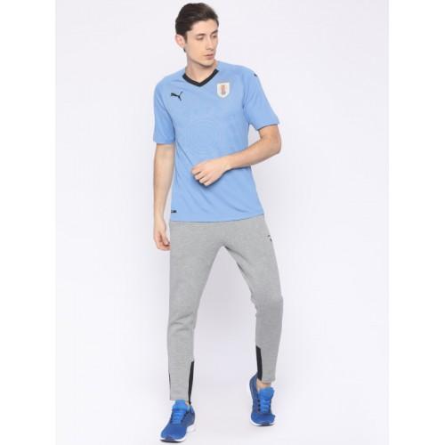 903df73acfa Buy Puma Men Blue Printed URUGUAY Home Replica T-shirt online ...