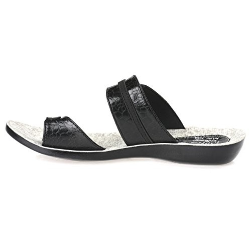 845021349 Buy Paragon Solea One Toe Sandals for Women (Black) online