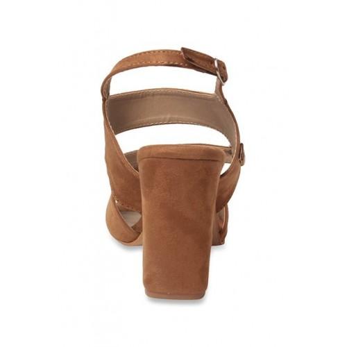 MSC brown back strap  sandal