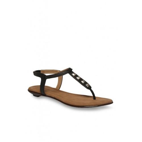 aa49008caca6 Buy Footin by Bata Black Sling Back Sandals online