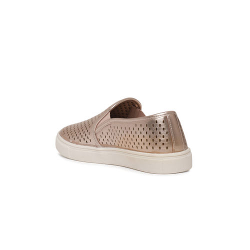 2e00762fbe5 Buy Steve Madden Quill Rose Gold Laser Cut Casual Sneakers online ...