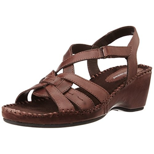 Buy Hush Puppies Women S Amarlysis Sandal Leather Fashion Sandals Online Looksgud In