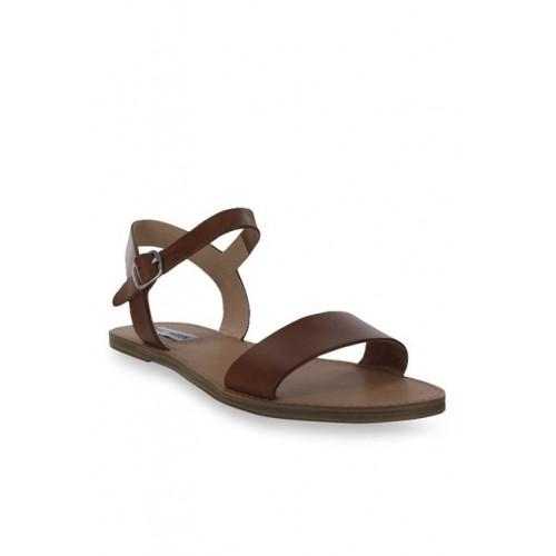 30db6cac0 Buy Steve Madden Kondi Brown Ankle Strap Sandals online
