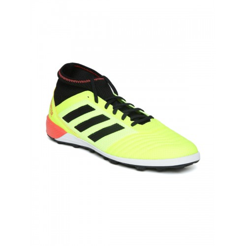 ... Adidas Men Fluorescent Green Predator Tango 18.3 Turf Cleats Football  Shoes ... 6de6bd6c9d