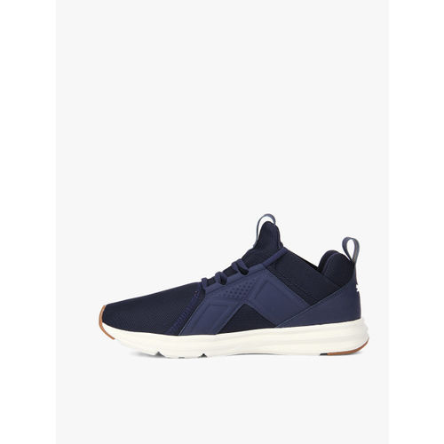 Puma Men Navy Blue Enzo Premium Running Shoes