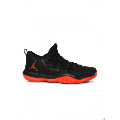 new concept b5435 2e768 Buy Nike Jordan Super.Fly 2017 Low Black Basketball Shoes ...