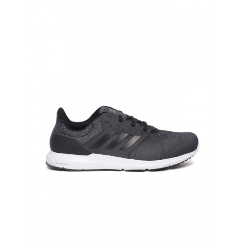 Adidas Men Charcoal Grey SOLYX Running Shoes