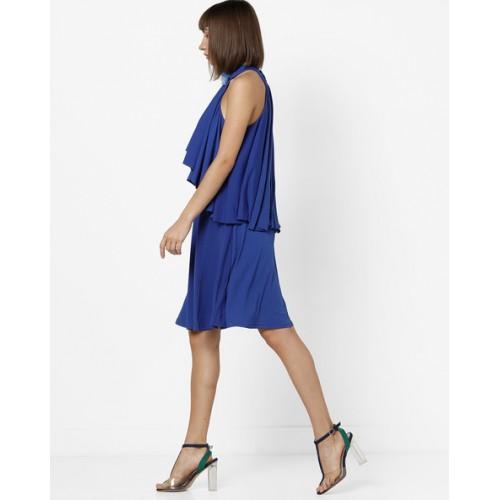 309d3a99e5c Buy MELA LONDON Halter-Neck Pop-Over Dress online