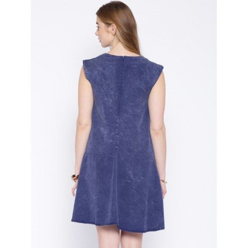 59807156cf Buy Alibi Blue Washed Shift Dress online