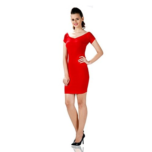 cb7c66d31 Buy Miss Chase Women s Polyester Bodycon Dress online