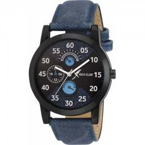 ADAMO Blue Designer Chronograph Watch  - For Men- A809SB02