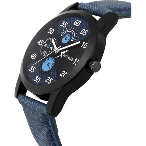 ADAMO Blue Designer Chronograph Watch  - For Men- A809SB02