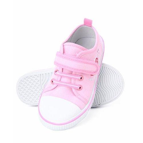 Cute Walk by Babyhug Heart Design Casual Shoes - Pink