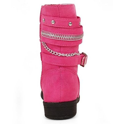 Kittens Shoes Kittens Classy Boots - Pink