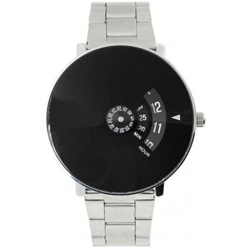 Japan store Black Dial Stainless Still Belt Analouge Watch