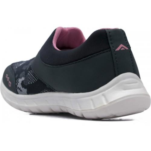 f9102a65bf374c Buy Asian RIYA-06 Black Slip On Running Shoes For Women online ...