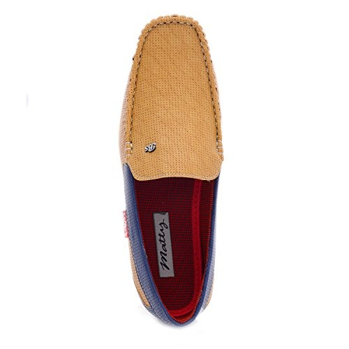 Prayog Men's Tan Colour Loafers Shoe
