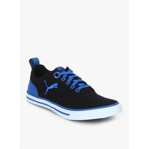 Puma Slyde Nu Idp Puma Black-Electric Blue Le Black Sneakers