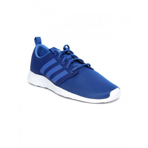 b1a7f87b32ad6 Buy Adidas Men Blue CF Swift Racer Running Shoes online