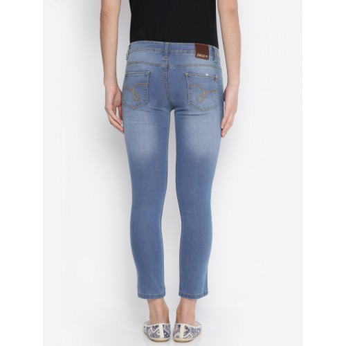 Jealous 21 Women Blue Super Skinny Fit Jeans