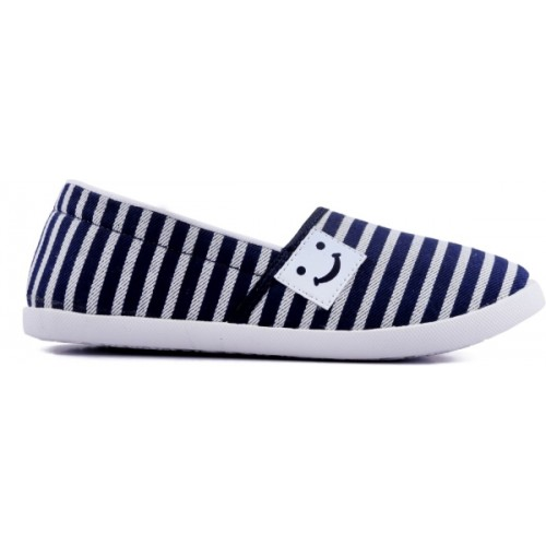 Asian Blue Low Ankle Slip On Casual Shoes