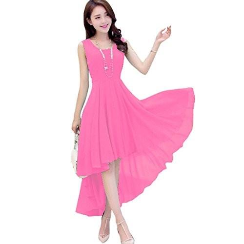2cd679b10 Buy VIHA Exclusive Bollywood Designer Solid Western Dress online ...