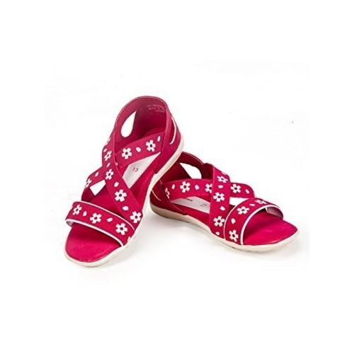 Buy Khadims Girls Synthetic Sandals
