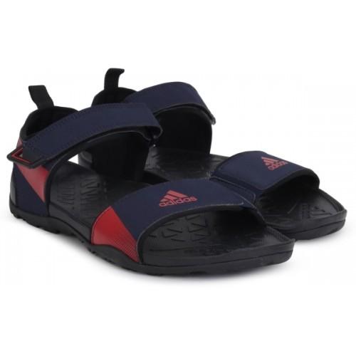 328f7fddeb05 Buy ADIDAS Men Navy Blue Sports Sandals online