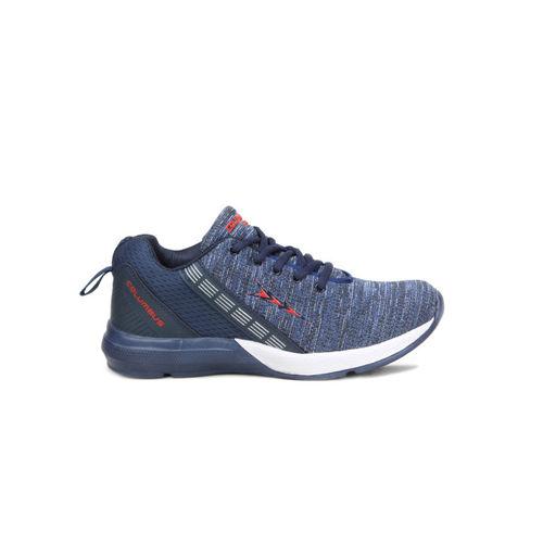 Columbus Men Navy Blue Running Shoes