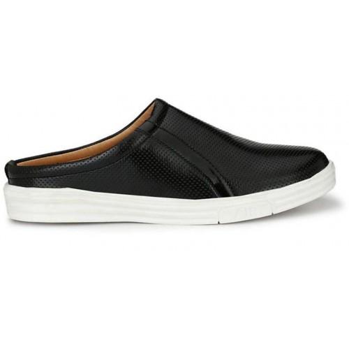 ZebX Black Casual Shoes