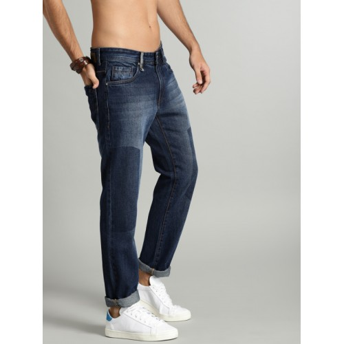 Roadster Men Blue Tapered Fit Mid-Rise Clean Look Jeans