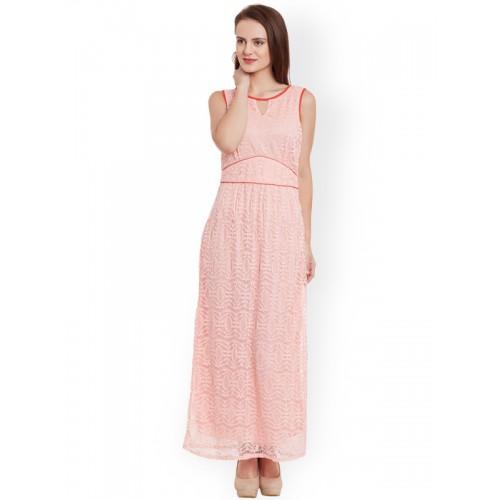 57af92e5ad3 Buy Latin Quarters Pink Lace Maxi Dress online