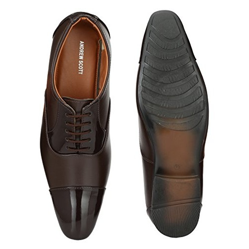 bc529710385 Buy Andrew Scott Men s Synthetic Leather Formal Shoes online ...