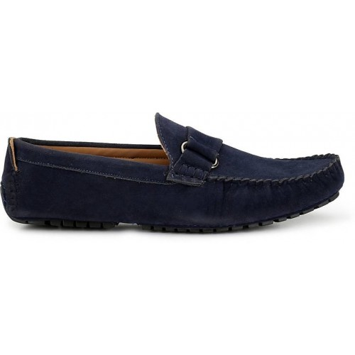 ZebX Blue Loafers