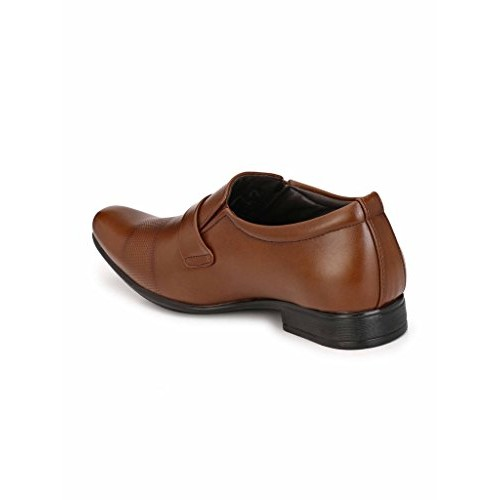 Levanse New Tan Leather Formal Shoes for Men/Boys.
