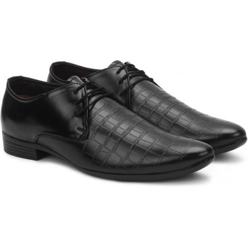 BUWCH Buwch Formal Black Shoe For Men Lace Up For Men
