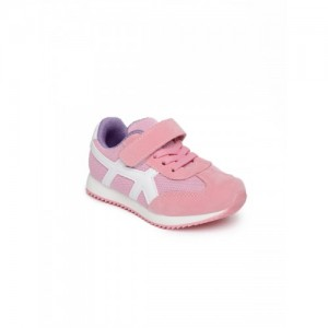Kittens Boys Pink Synthetic Leather Sneakers