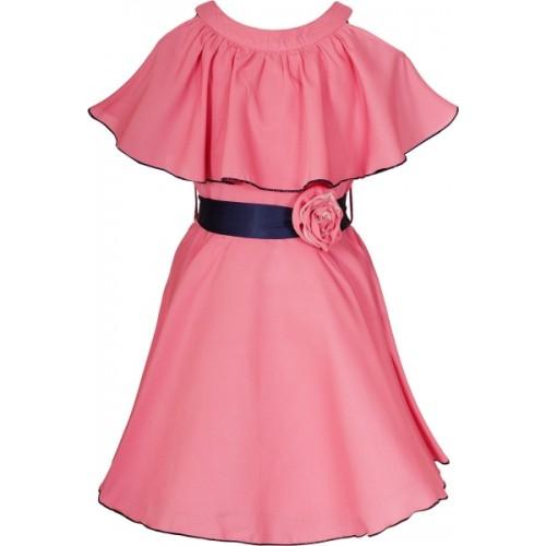 Naughty Ninos Girls Midi/Knee Length Party Dress