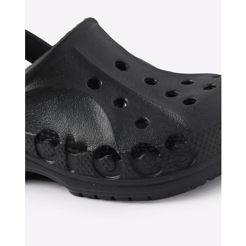 Crocs Black Synthetic Slip On Casual Clogs