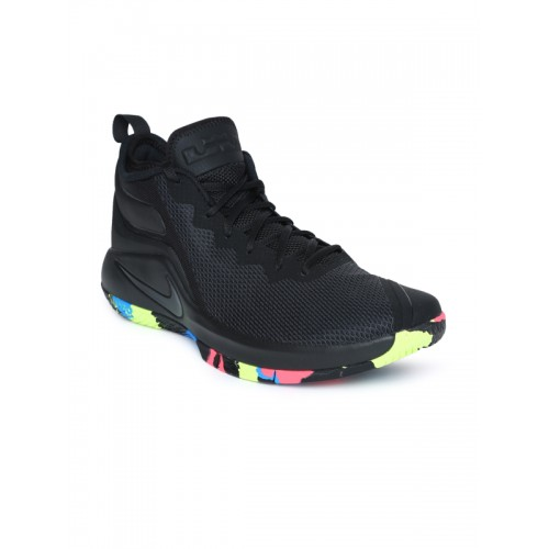 watch f8e70 1876b ... promo code nike lebron witness ii black basketball shoes 86db2 5bdd5