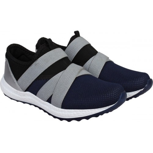 Aero Aspire Blue Running Shoes For Men