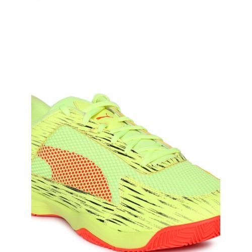 new concept 718b2 96791 Puma Yellow evoSPEED Indoor Netfit EURO 5 Shoes ...