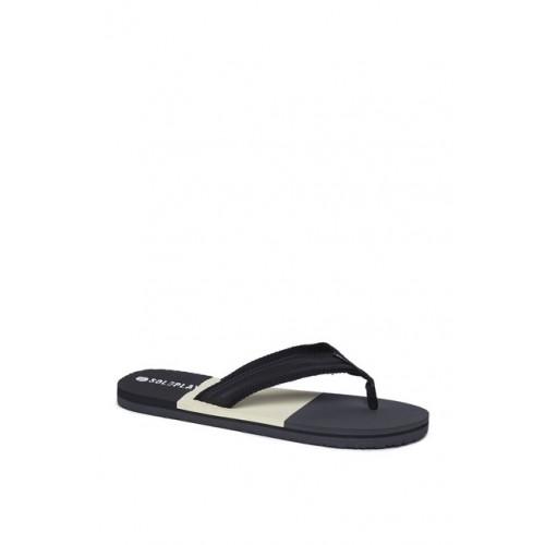 33d5d4f47fda Buy SOLEPLAY by Westside Black Colour-block Flip-Flops online ...