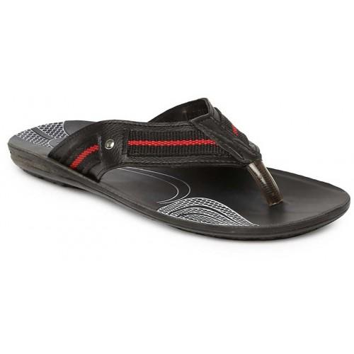 b8f982f0f1c Buy Paragon-Vertex Men s Black Flip Flops online
