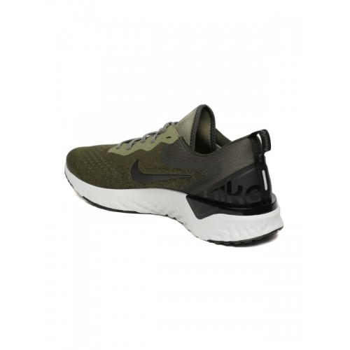 d4b8fca0449 Buy Nike Men Olive Green Epic React Flyknit Running Shoes online ...