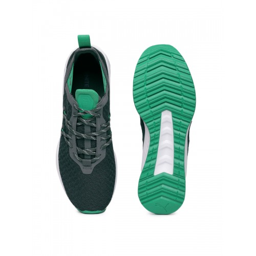 21ec998be2a Buy Puma Men Grey   Green IGNITE Ronin Running Shoes online ...