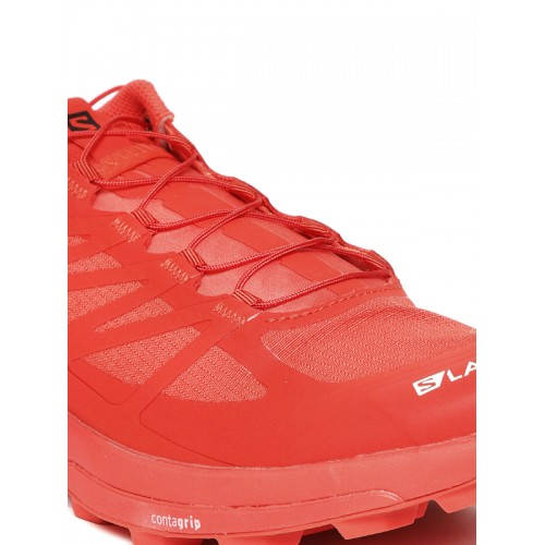 wholesale dealer 8dd3b 3b16c Buy Salomon Men Red S/LAB Sense 6 SG Running Shoes online ...