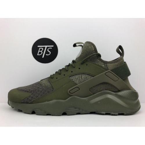 da698bda8e3c6 Buy Men s Nike Air Huarache Run Ultra  Green  Size-12 Olive Green ...