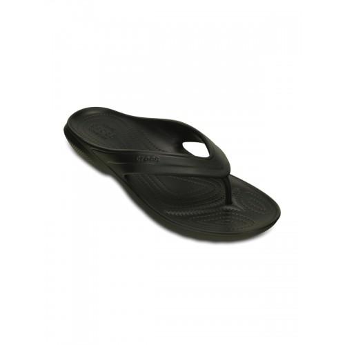 703a926c0 Buy Crocs Men Black Flip Flops online
